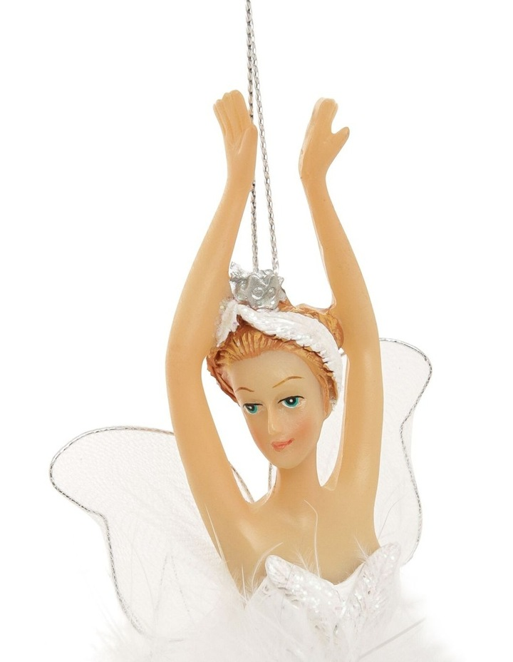 Luxe Winged Fairy Ballerina Hanging Ornament image 3