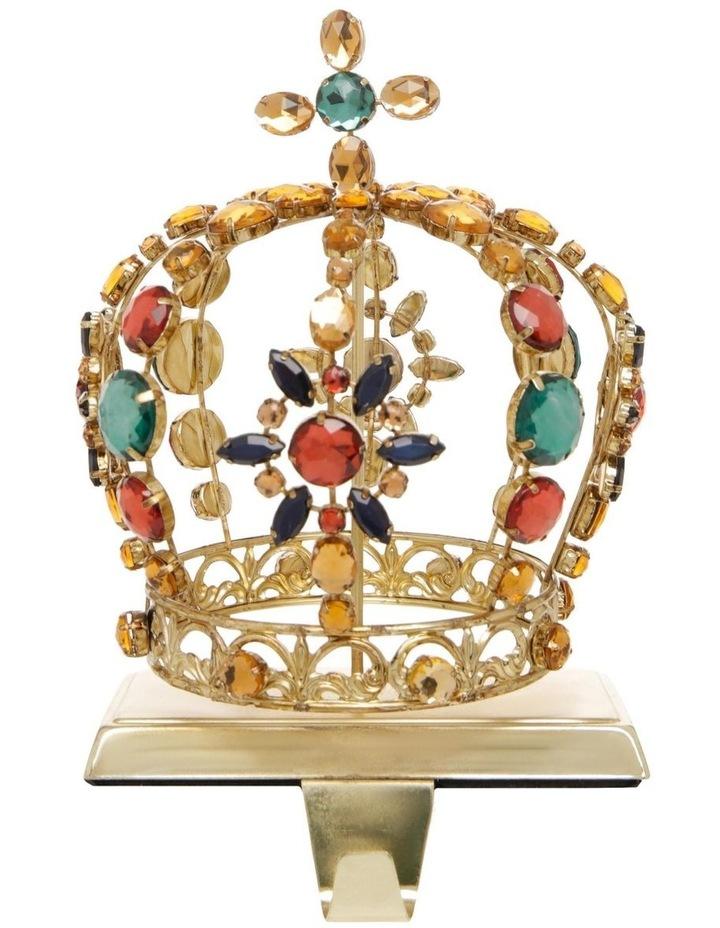 Heirloom Crown-Themed Christmas Stocking Holder image 1