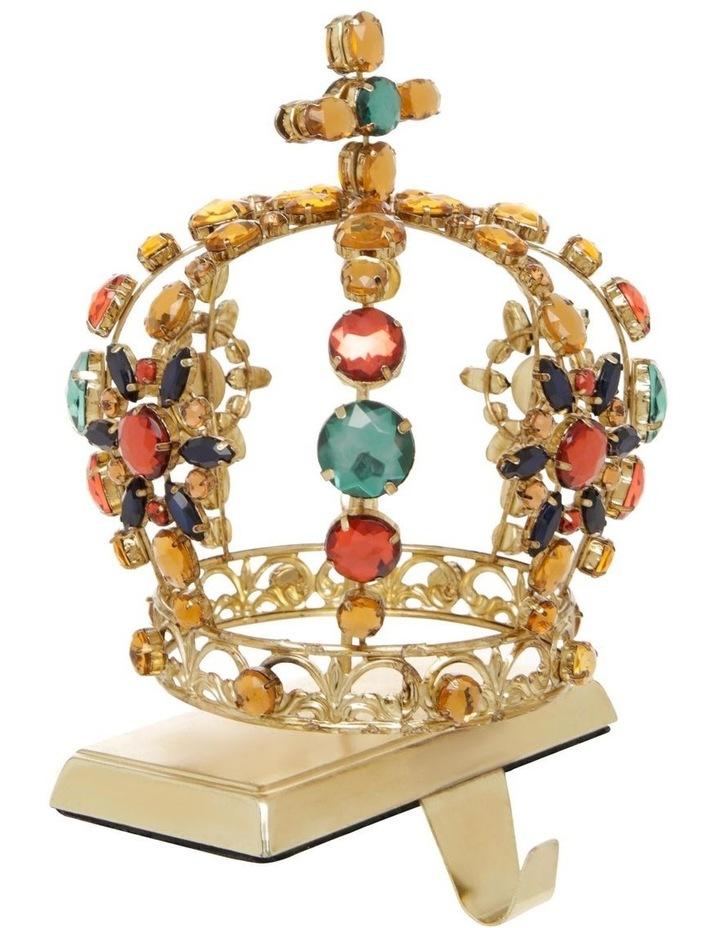 Heirloom Crown-Themed Christmas Stocking Holder image 2