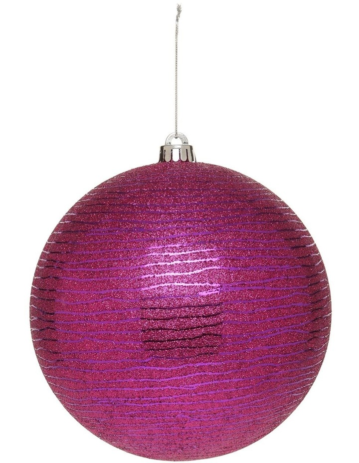 Limited Edition 200mm Oversized Glittered Decorative Ball image 1