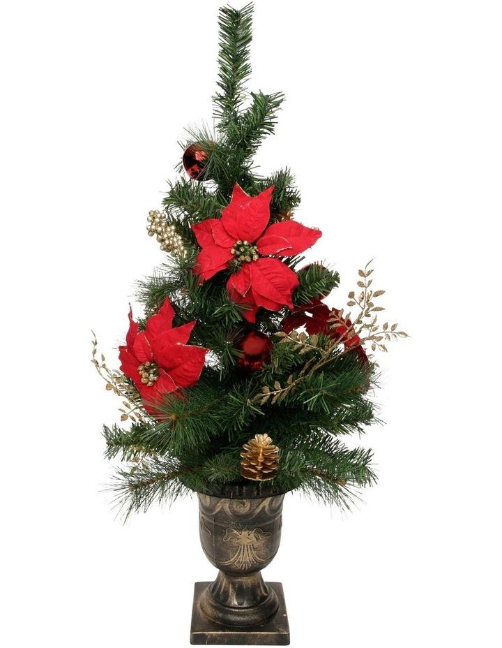 Heirloom Poinsettia Table Tree image 1