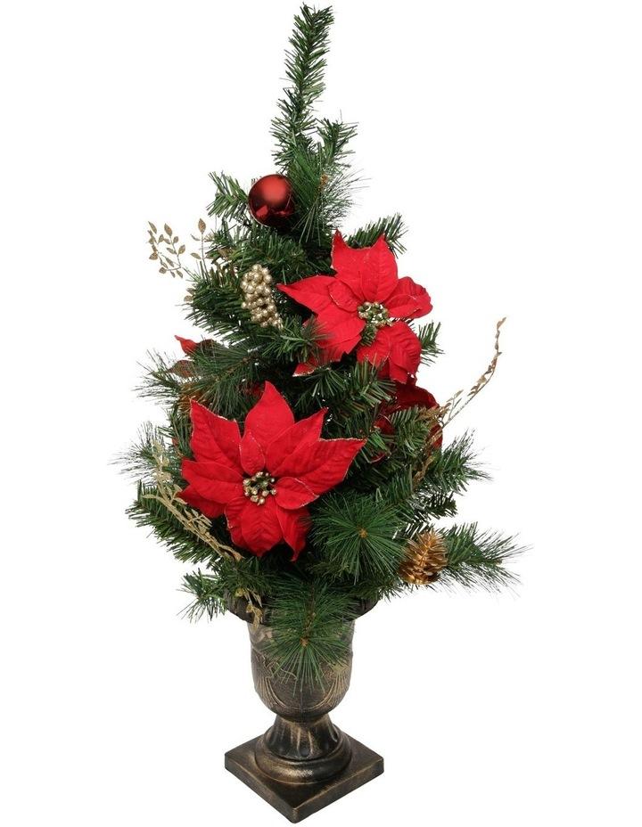Heirloom Poinsettia Table Tree image 2