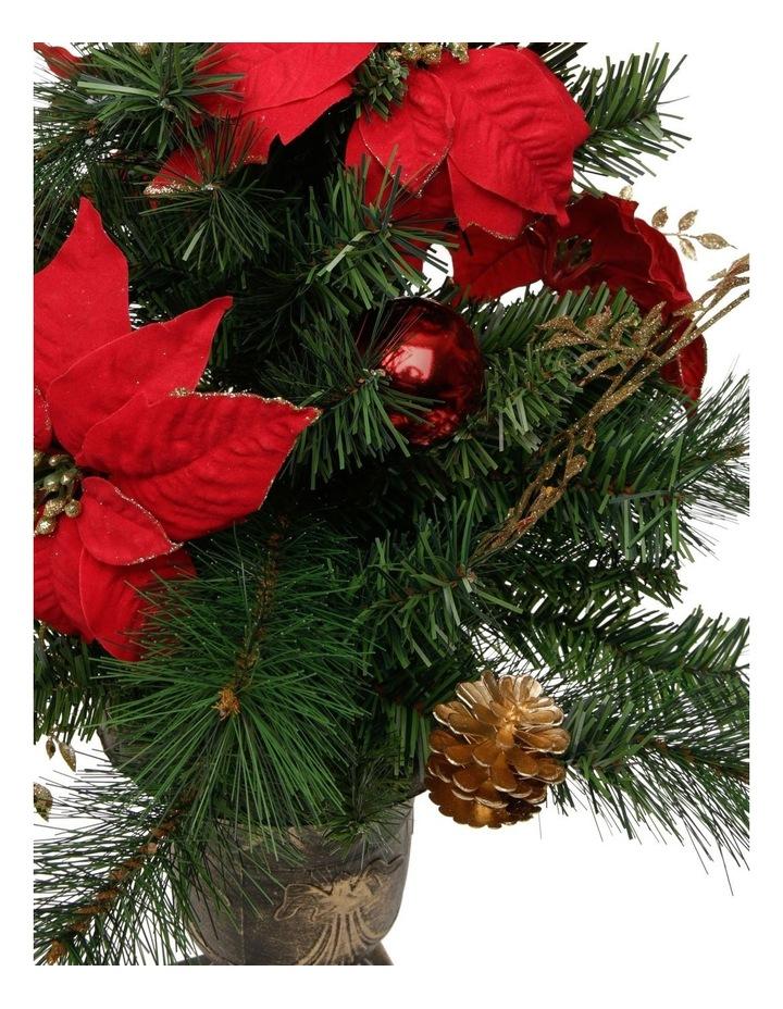 Heirloom Poinsettia Table Tree image 3