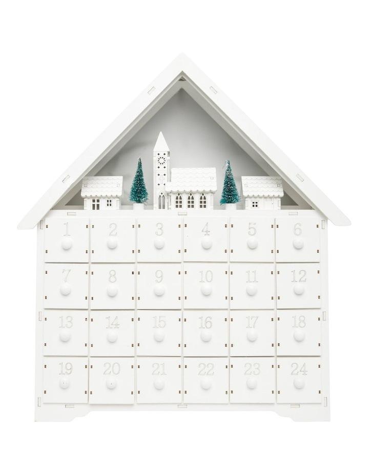 House Shaped Advent Calendar image 1