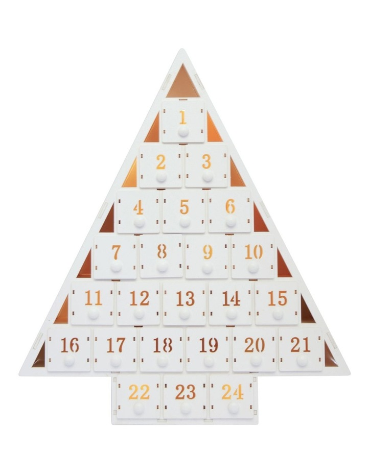 Triangle Shaped Wooden Advent Calendar image 2