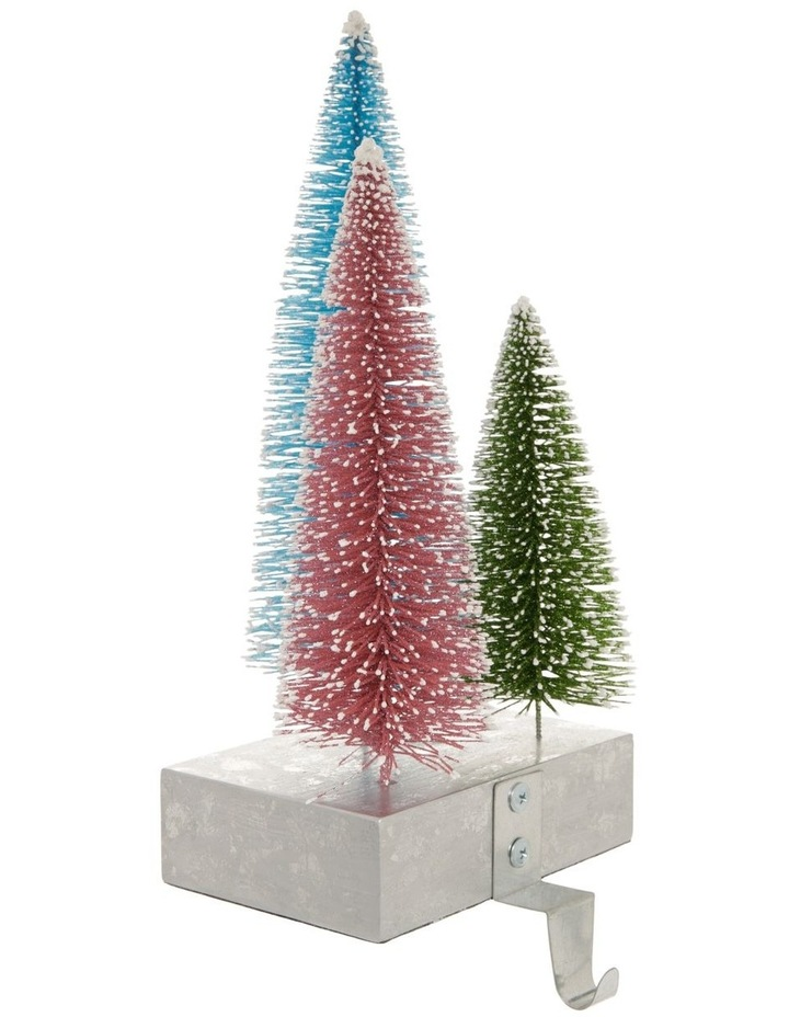 Merry & Bright Tri-Colour Tree Stocking Holder image 2