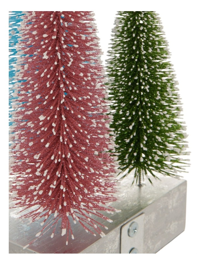 Merry & Bright Tri-Colour Tree Stocking Holder image 3