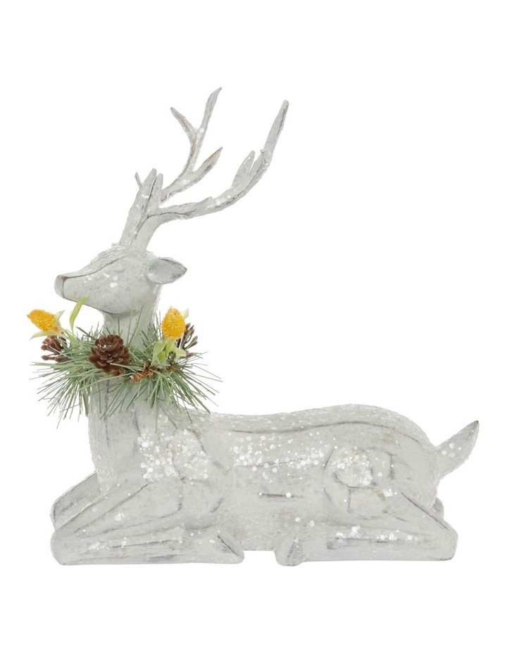 Eucalyptus Sitting Reindeer with Australiana Trim image 1