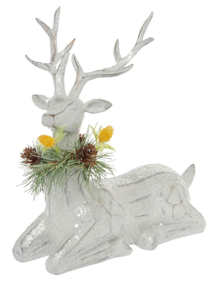Eucalyptus Sitting Reindeer with Australiana Trim image 2