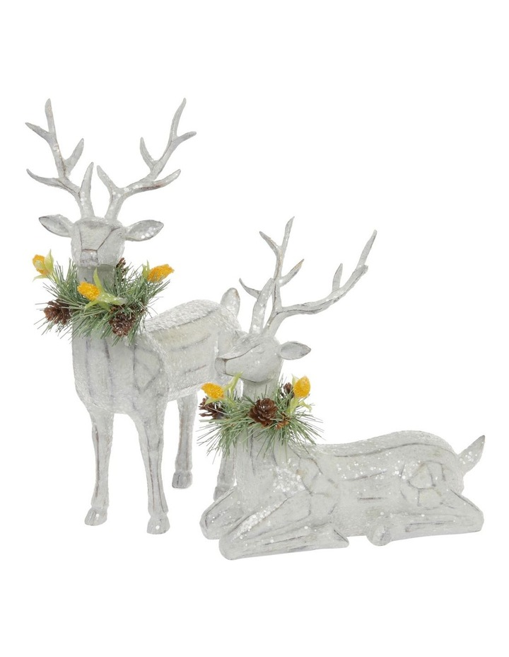 Eucalyptus Sitting Reindeer with Australiana Trim image 4