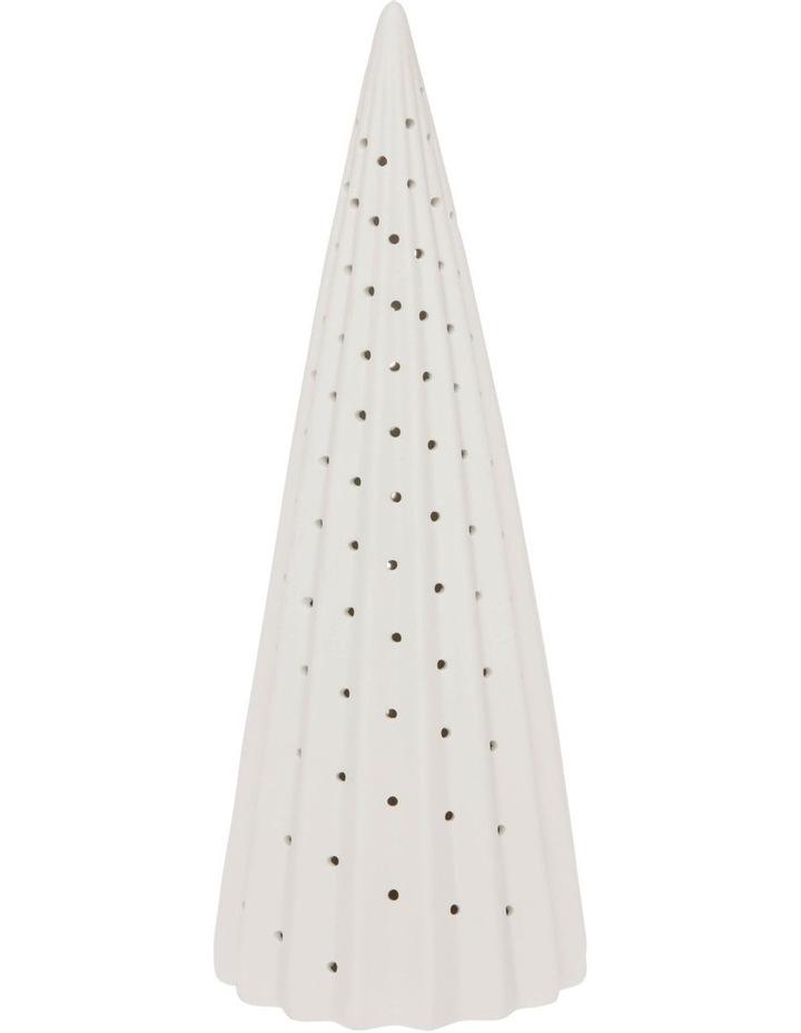 Eucalyptus Large LED Ceramic Tree Decoration 36cm image 1