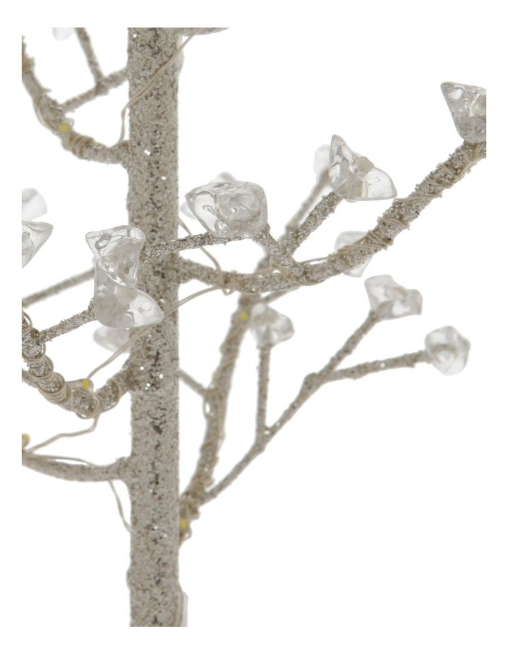 Luxe Faux Jewel Glitter Tree LED Decoration image 3