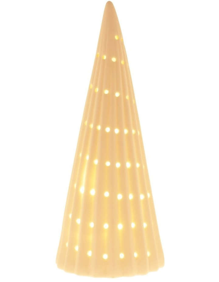 Eucalyptus Small LED Ceramic Tree Decoration 23cm image 3