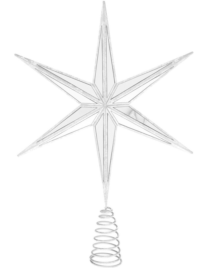 Luxe Mirrored Deco Star Tree-Topper image 1