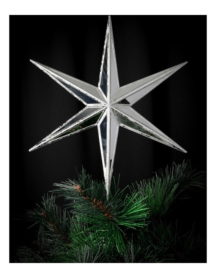 Luxe Mirrored Deco Star Tree-Topper image 3