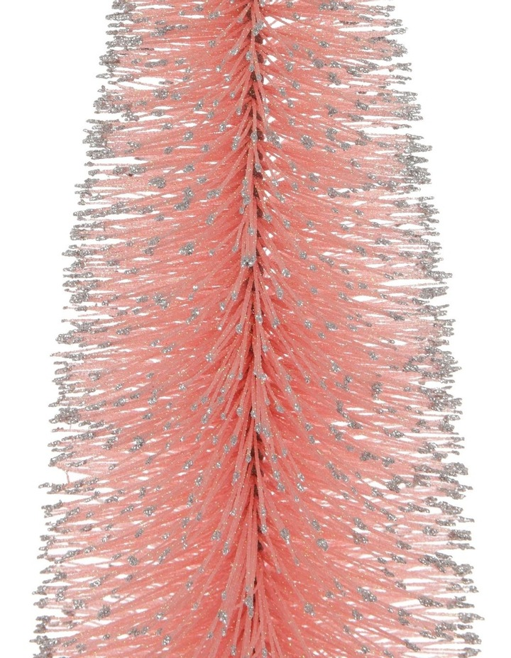 Luxe Large Glitter Bottlebrush Tree Table Decoration 61cm image 2