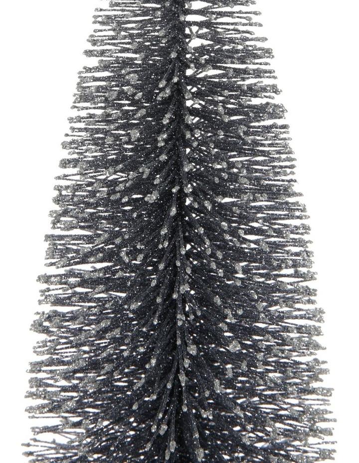 Luxe Medium Glitter Bottlebrush Tree Table Decoration 45cm image 2