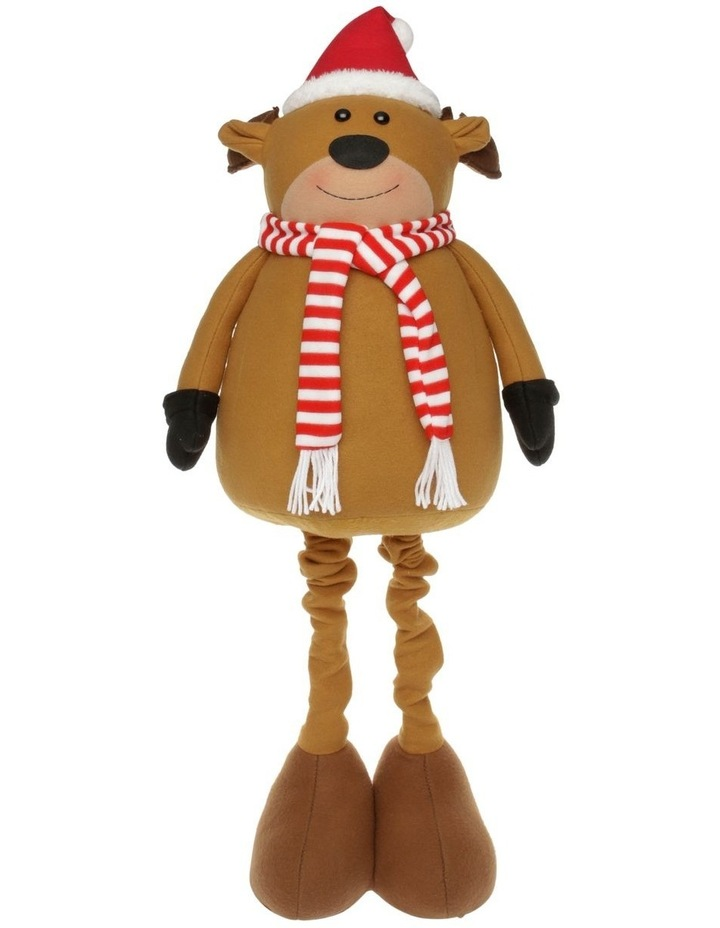 Merry & Bright Reindeer Pop-Up Decoration image 1