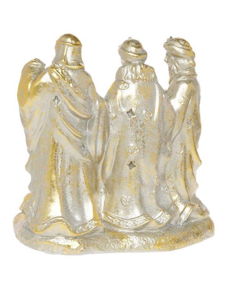 Heirloom Gold Antiqued Nativity Decoration image 2