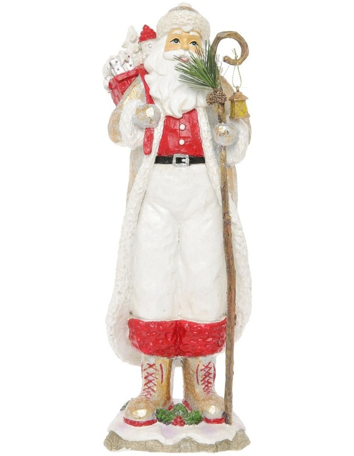 Heirloom Frederick Santa with Staff & Gift Sack Decoration image 1