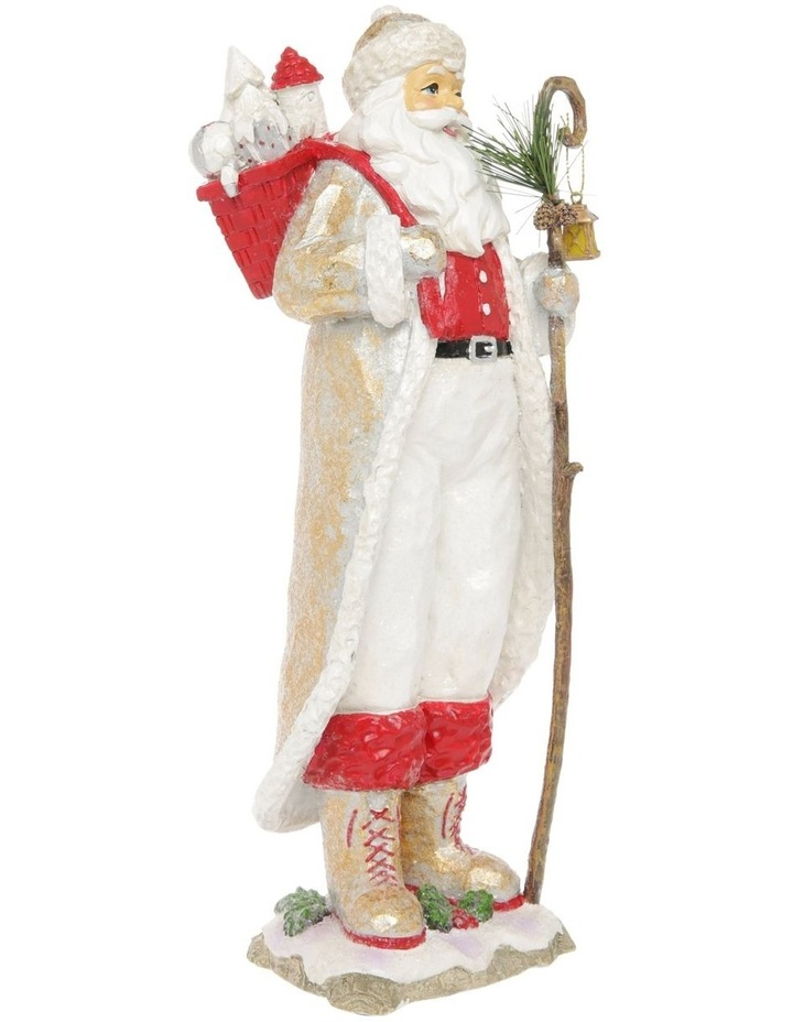 Heirloom Frederick Santa with Staff & Gift Sack Decoration image 2