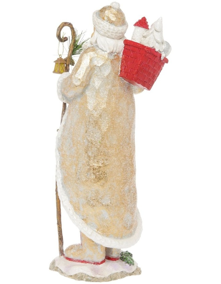 Heirloom Frederick Santa with Staff & Gift Sack Decoration image 3