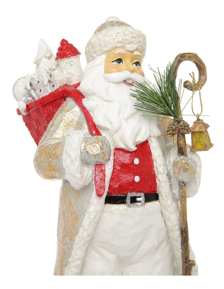 Heirloom Frederick Santa with Staff & Gift Sack Decoration image 4