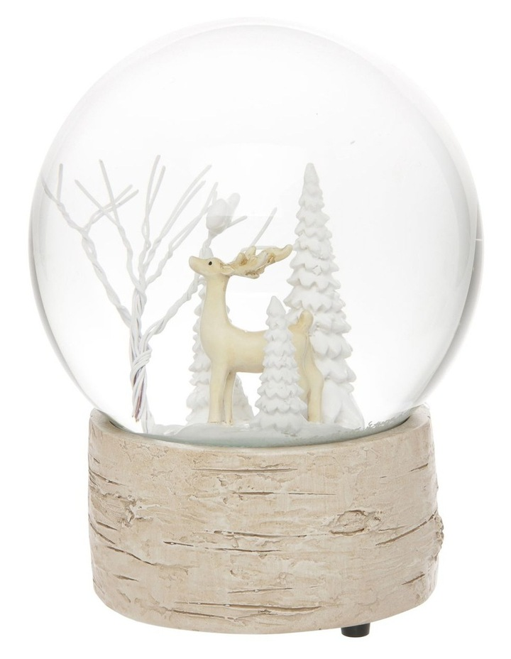 Eucalyptus Musical Snowglobe with Reindeer Feature image 1