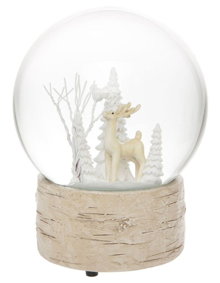 Eucalyptus Musical Snowglobe with Reindeer Feature image 2