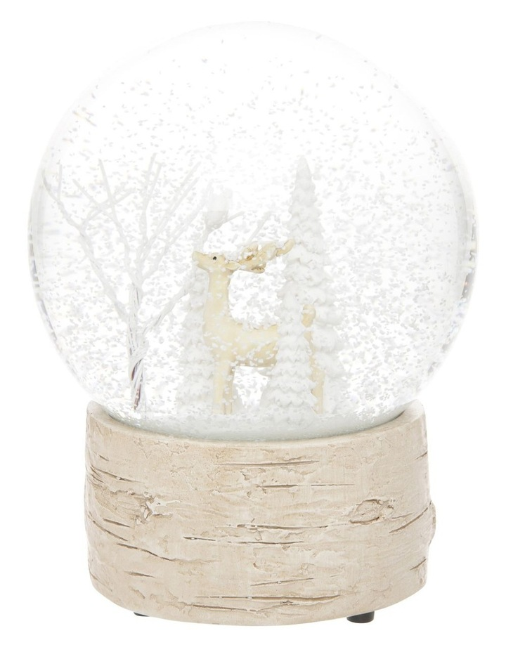 Eucalyptus Musical Snowglobe with Reindeer Feature image 3