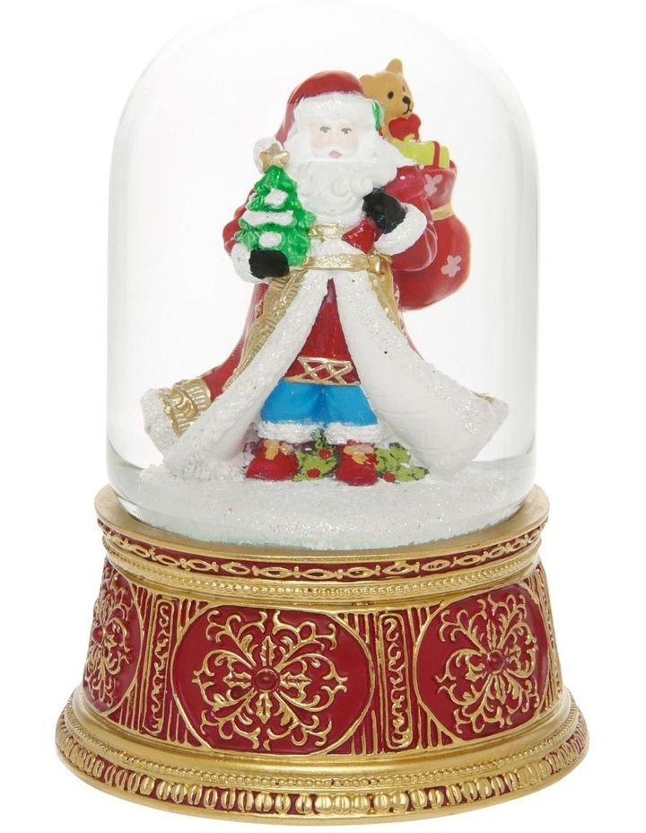 Heirloom Santa with Gift Sack Snowglobe image 1