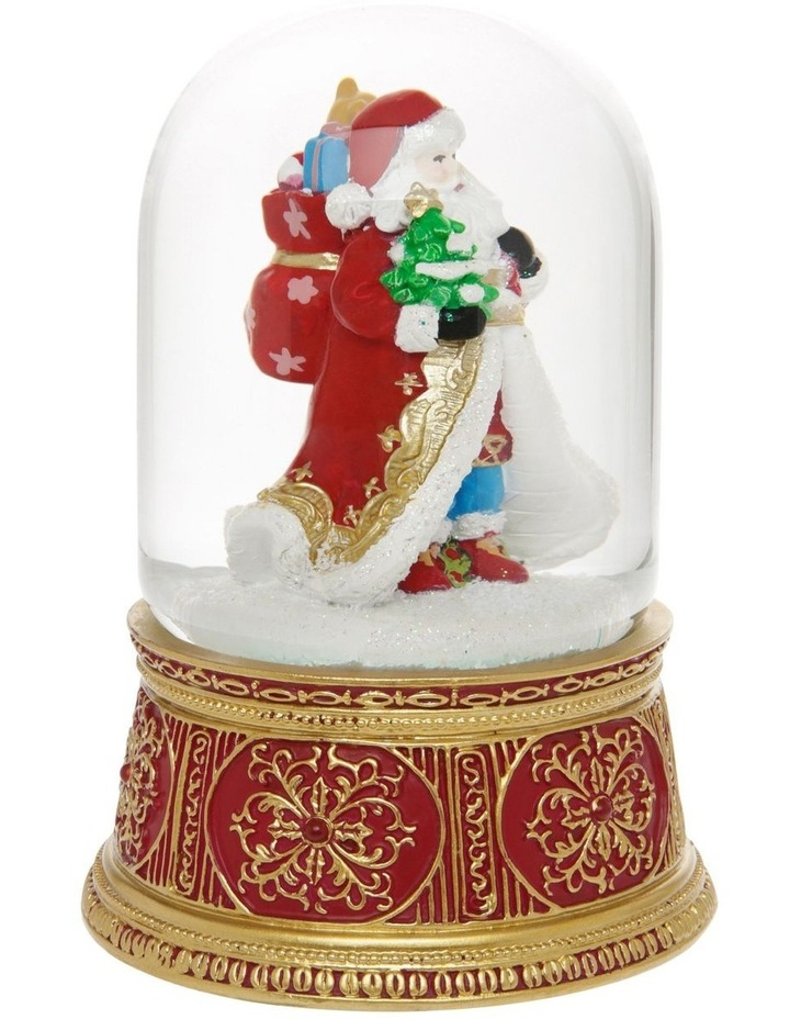 Heirloom Santa with Gift Sack Snowglobe image 2
