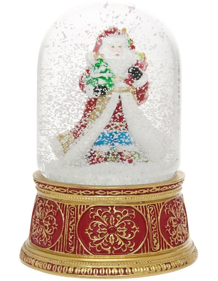 Heirloom Santa with Gift Sack Snowglobe image 3