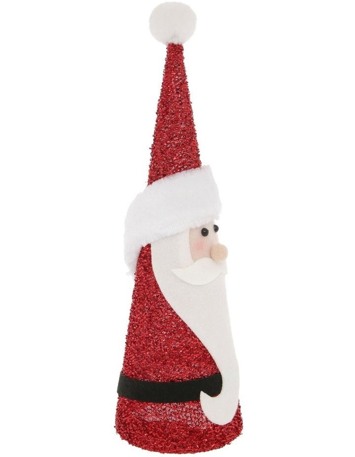 Merry & Bright Santa Cone Table Decoration image 2