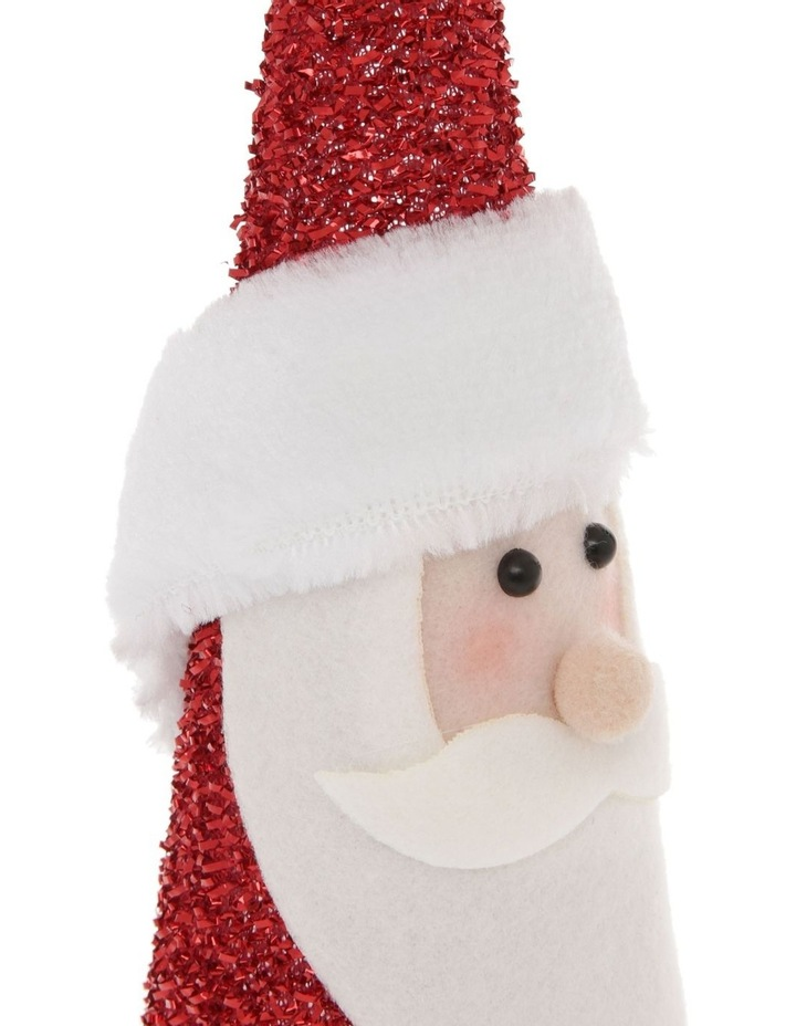 Merry & Bright Santa Cone Table Decoration image 3