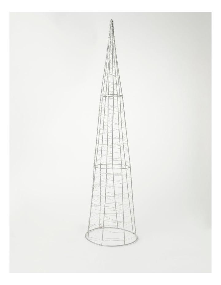 100L Cone LED Decoration- Warm White: 75cm image 1