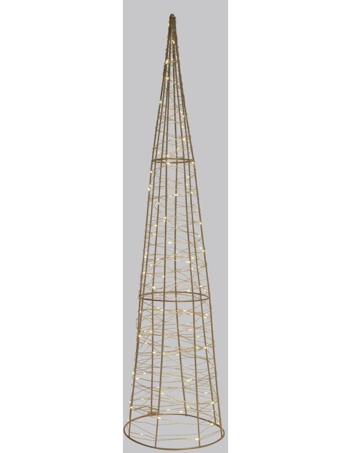 100L Cone LED Decoration- Warm White: 75cm image 2