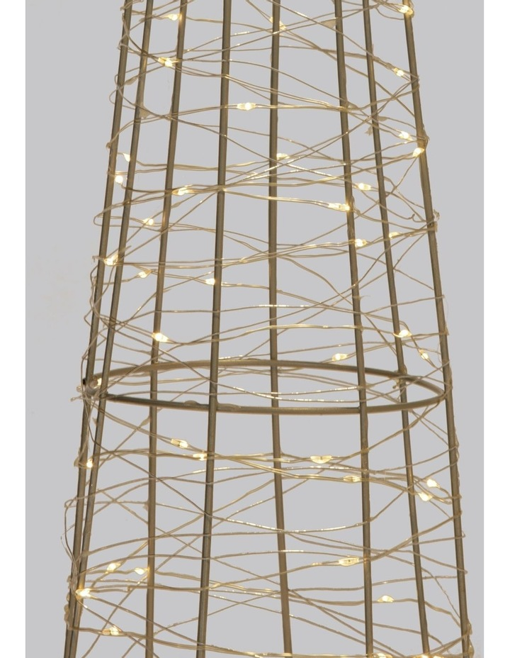 100L Cone LED Decoration- Warm White: 75cm image 3