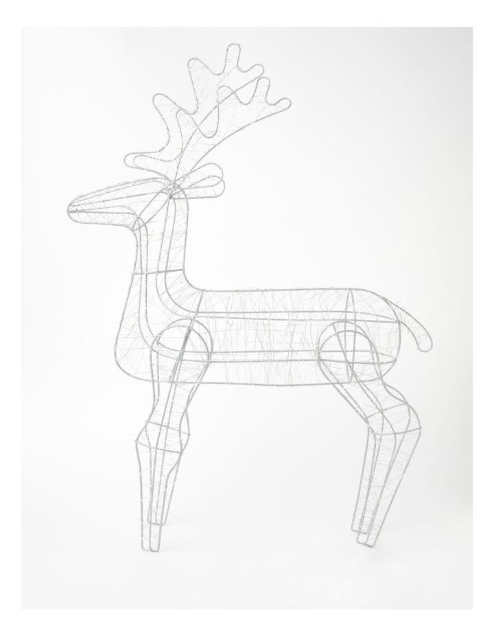 100L Reindeer LED Decoration- Warm White: 75cm image 2