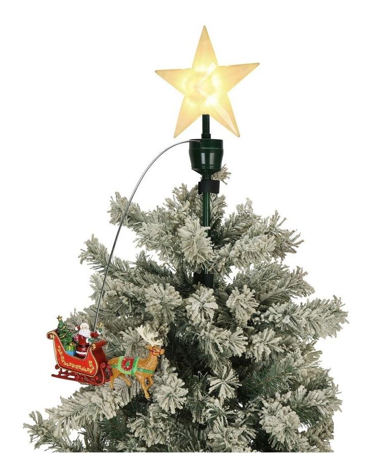 Animated Tree Topper - Santa/Sleigh image 2