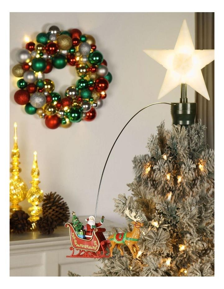 Animated Tree Topper - Santa/Sleigh image 3