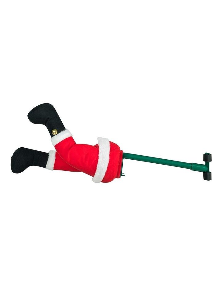 Mr Christmas Animated Christmas Kickers - Santa image 1