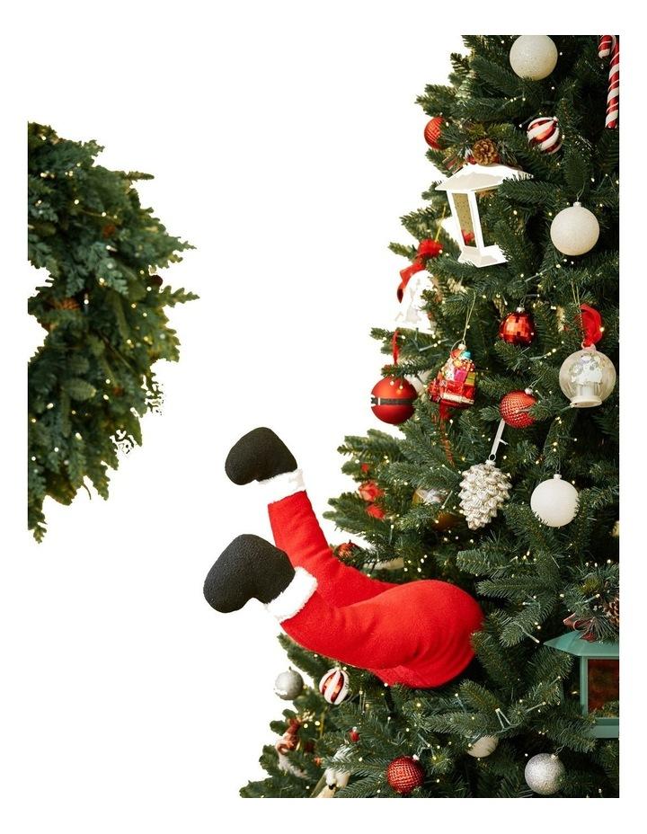 Mr Christmas Animated Christmas Kickers - Santa image 2
