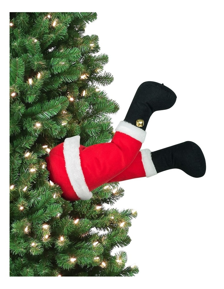 Mr Christmas Animated Christmas Kickers - Santa image 3