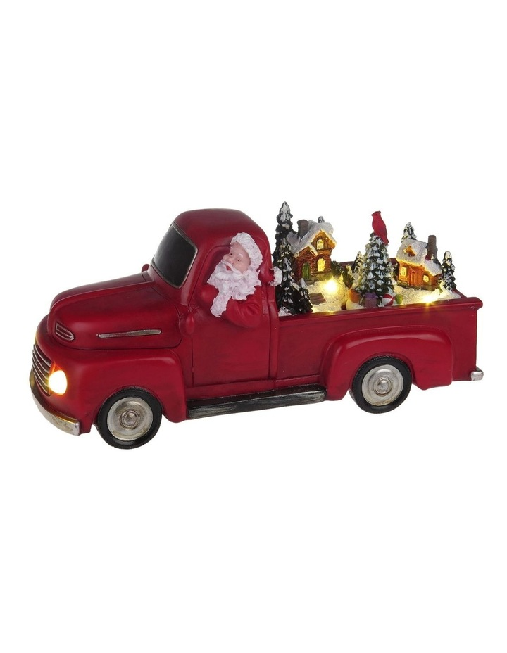 Animated Red Christmas Truck image 2