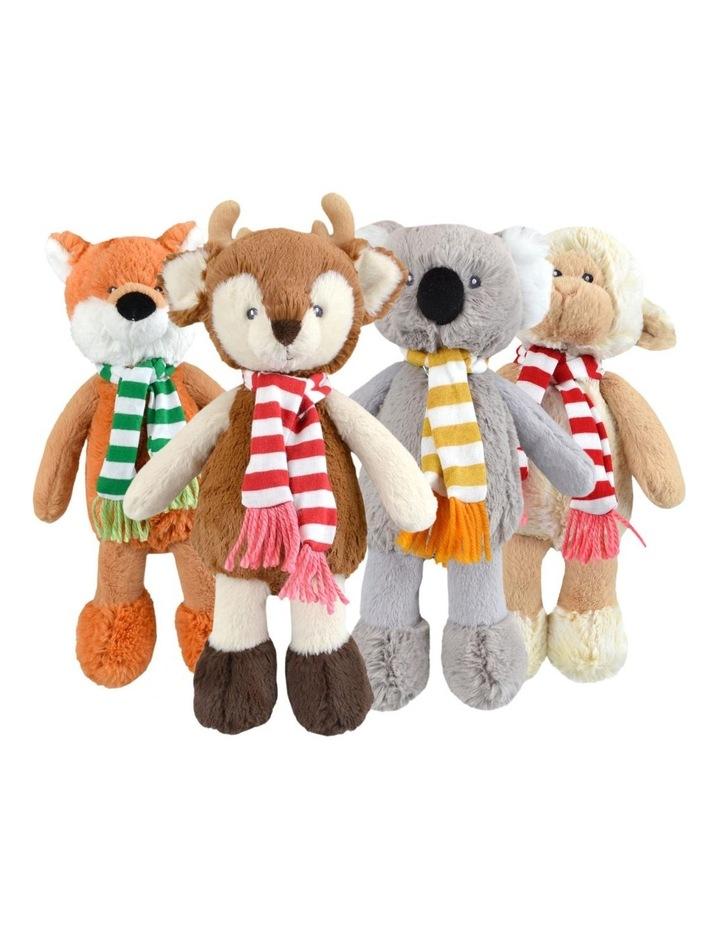 Frankie and Friends Christmas Deer, Fox, Lamb, Koala - Assortment image 1