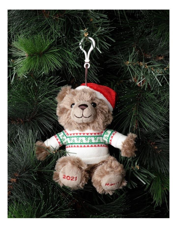 Myer Giftorium 2021 Monty Charity Bear Hanging Plush- Chocolate: 13cm image 1