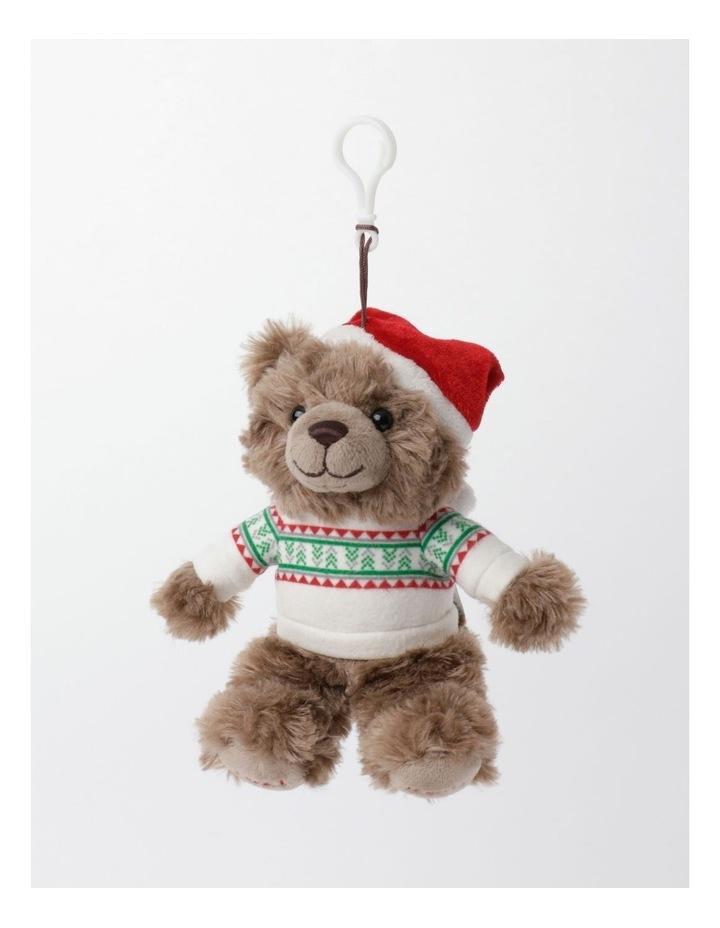Myer Giftorium 2021 Monty Charity Bear Hanging Plush- Chocolate: 13cm image 3