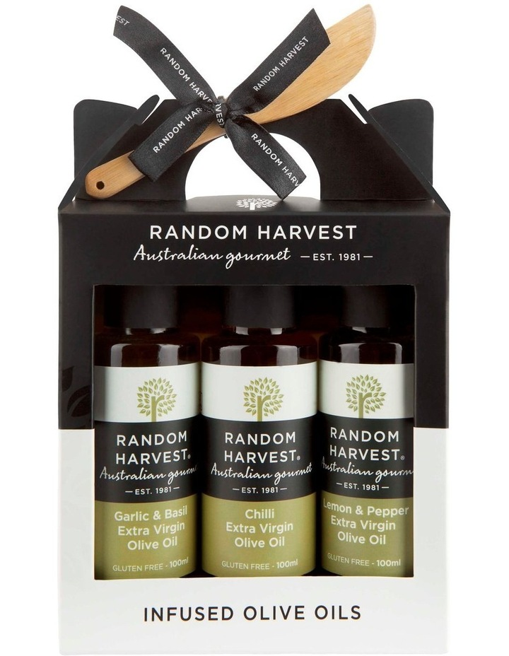 Infused Olive Oils Carry Case 3 x 100ml image 1
