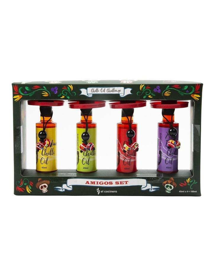El Cochinero Amigo Chilli Oils 4 Pack image 1